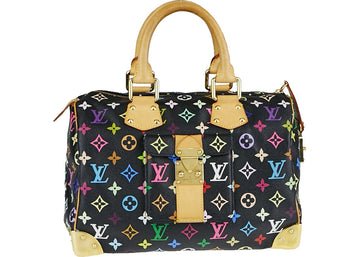 Louis Vuitton Speedy Monogram Multicolore 30 Black