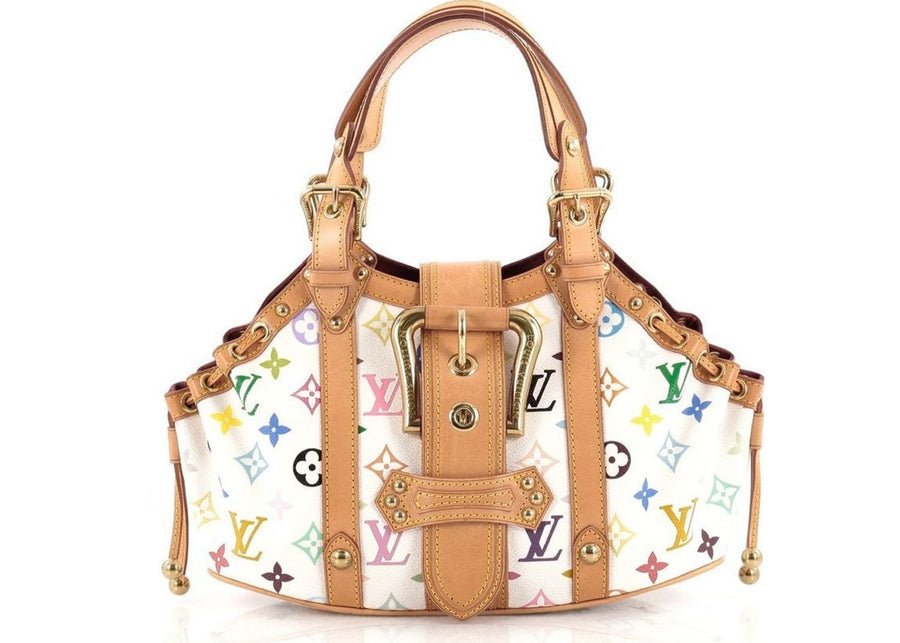 Louis Vuitton Theda Monogram Multicolore GM White