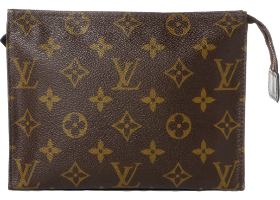 Louis Vuitton Toiletry Pouch Monogram 19 Brown