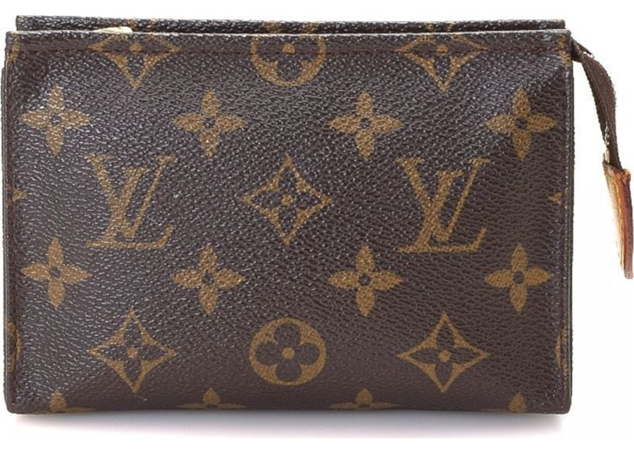 Louis Vuitton Toiletry Pouch Monogram Brown