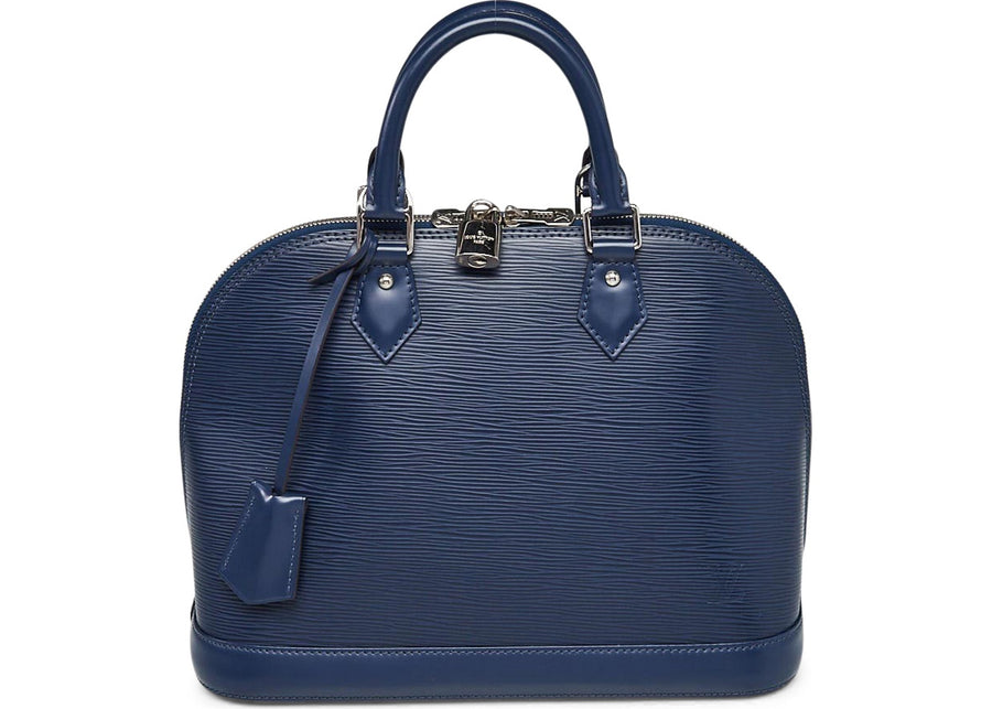Louis Vuitton Top Handle Alma Epi PM Indigo