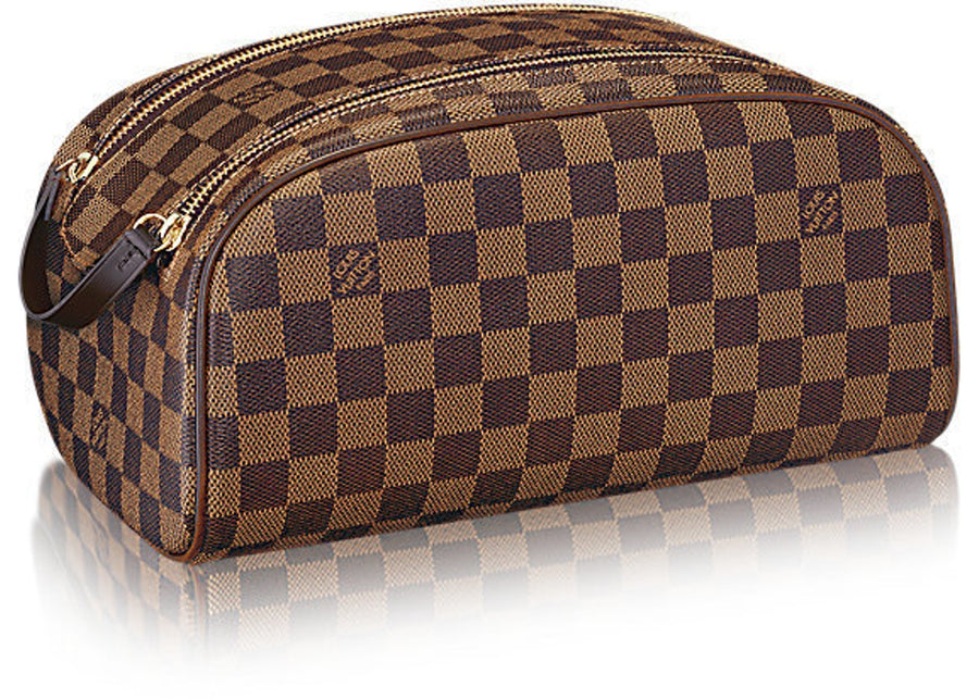 Louis Vuitton Trousse Toiletry Bag Damier King Size Brown
