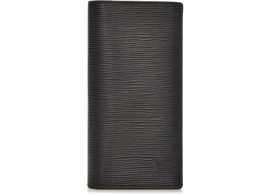 Louis Vuitton Wallet Brazza Epi Black