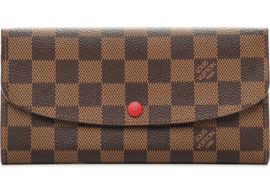 Louis Vuitton Wallet Emilie Damier Ebene