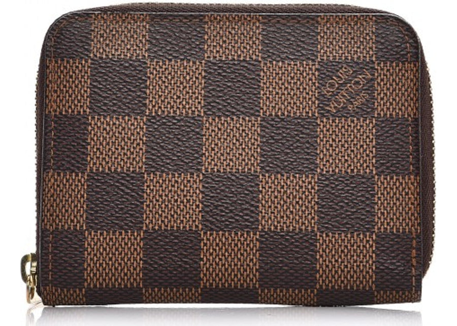 Louis Vuitton Zippy Coin Purse Damier Ebene