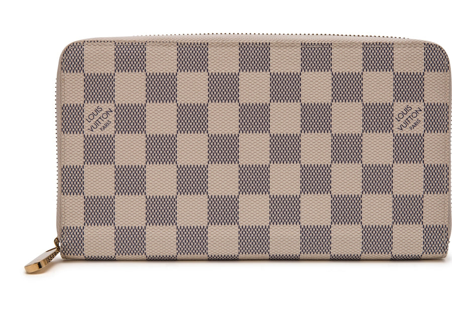 Louis Vuitton Wallet Zippy Organizer Damier Azur