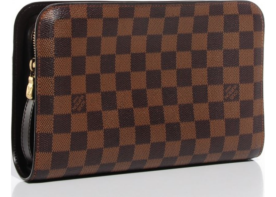 Louis Vuitton Saint Louis Pochette Damier Ebene Brown
