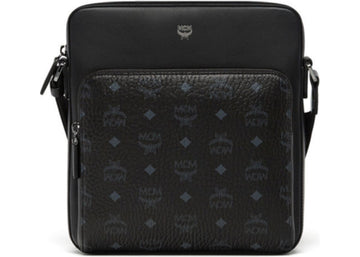 MCM Ottomar Messenger Visetos Small Black