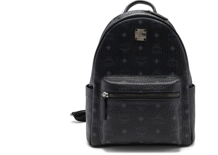 MCM Stark Backpack Visetos Small Black