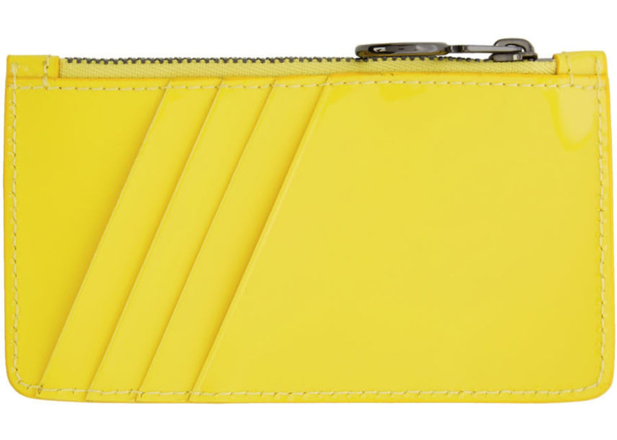 OFF-WHITE Arrows Card Wallet Yellow Black