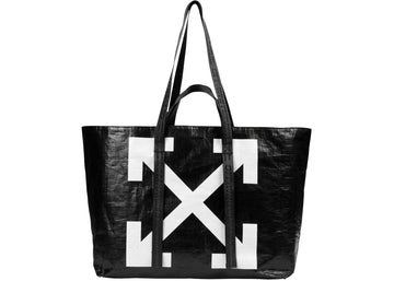 OFF-WHITE Arrows Tote Bag Black White