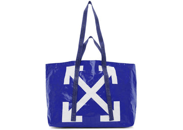 OFF-WHITE Arrows Tote Bag Blue White