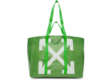 OFF-WHITE Arrows Tote Bag Green White