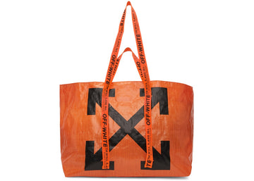 OFF-WHITE Arrows Tote Bag Orange Black