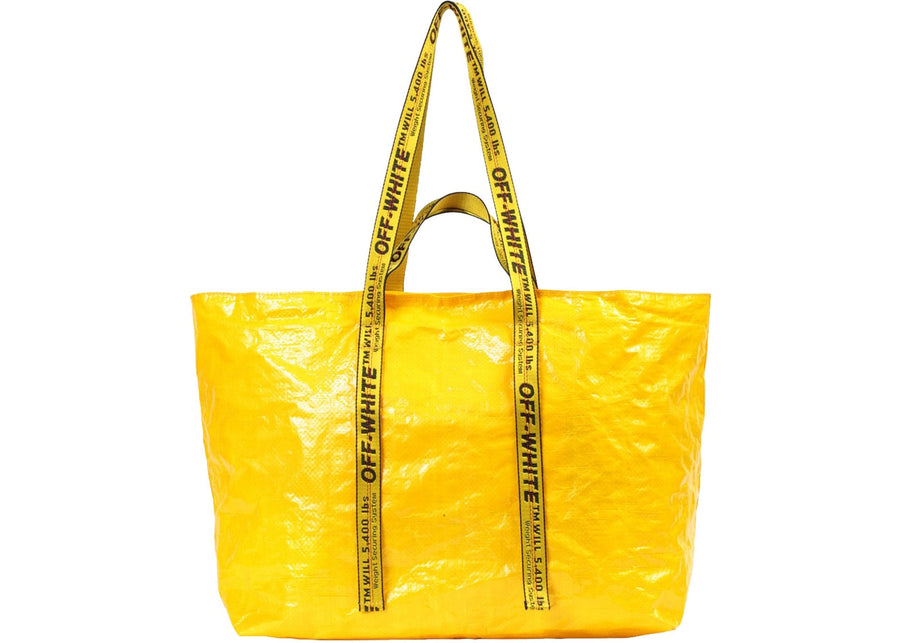 OFF-WHITE Arrows Tote Bag Yellow Black