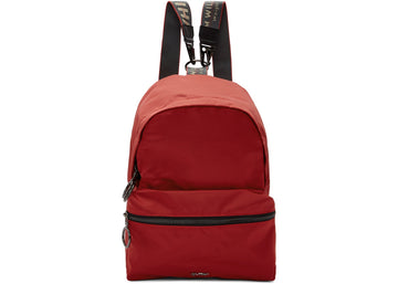 OFF-WHITE Backpack Nylon Mini Red