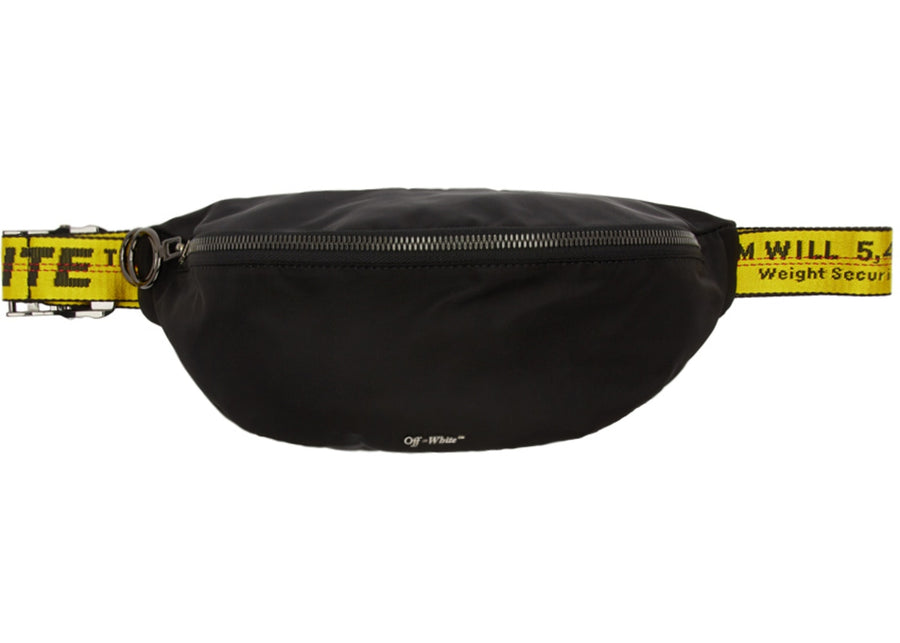OFF-WHITE Basic Fannypack Black Yellow