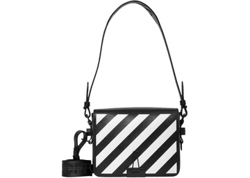 OFF-WHITE Binder Clip Bag Diag Black White