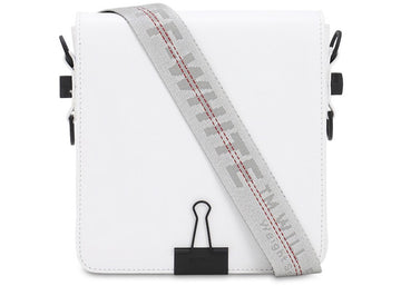 OFF-WHITE Binder Clip Bag White Grey