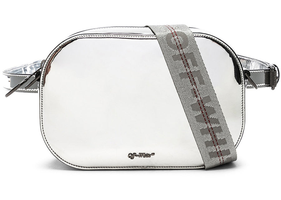OFF-WHITE Camera Bag Mirror Silver