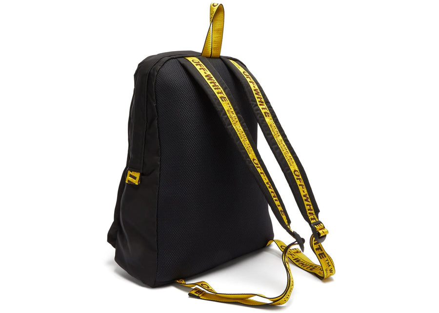 OFF-WHITE Easy Backpack Black White Yellow