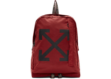 OFF-WHITE Easy Backpack Red Black