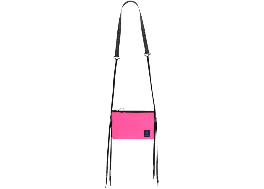 OFF-WHITE Flat Crossbody Bag Fuchsia