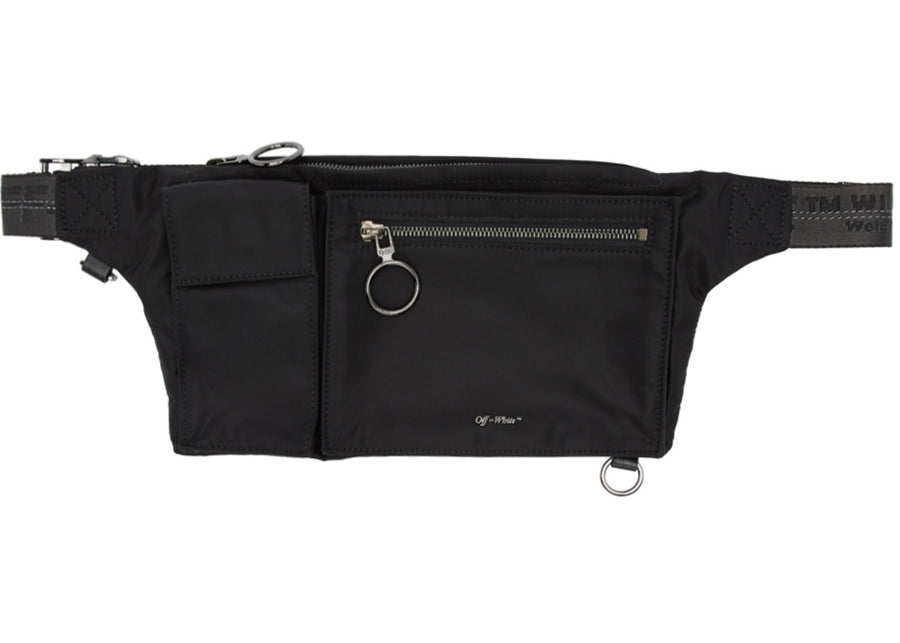 OFF-WHITE Pockets Fannypack Black
