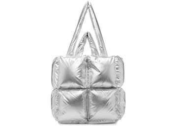 OFF-WHITE Puffy Bag Nylon Small Silver