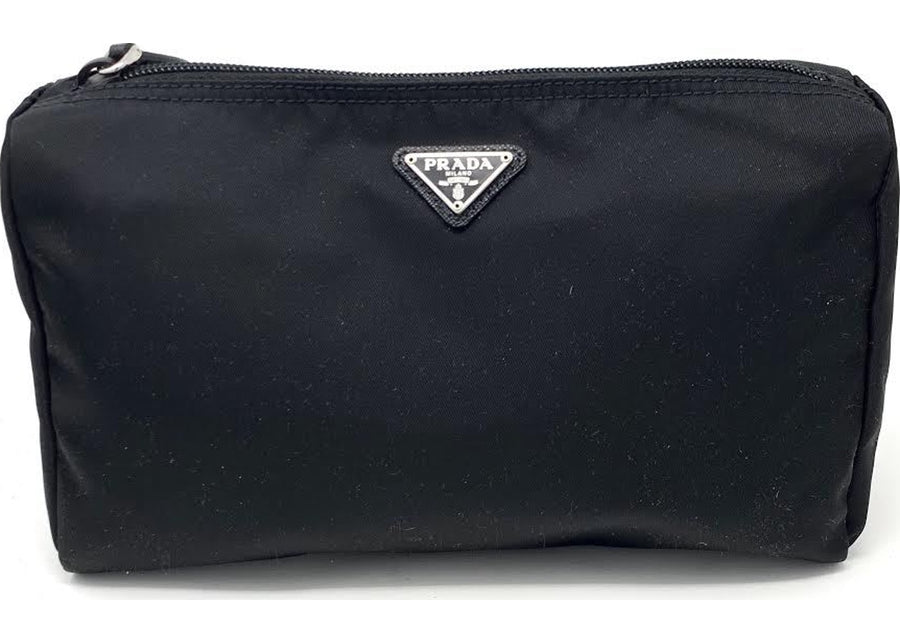 Prada Cosmetic Case Nylon Black