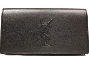 Saint Laurent Belle De Jour Clutch Large Black