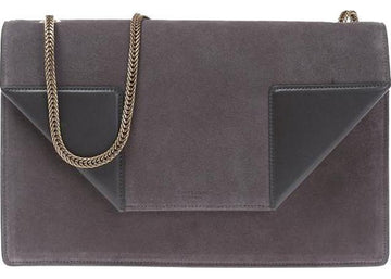 Saint Laurent Betty Shoulder Bag Medium Gray