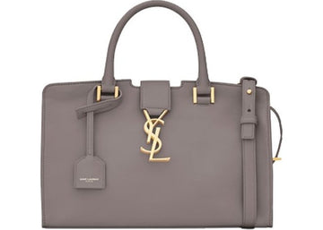 Saint Laurent Cabas Satchel Gray