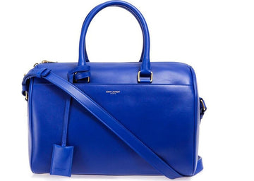 Saint Laurent Classic 6 Duffle Bag Blue