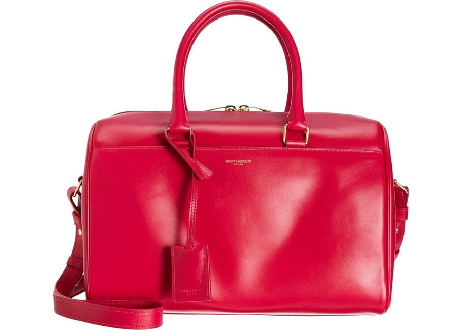 Saint Laurent Classic 6 Hour Duffle Bag Fuschia