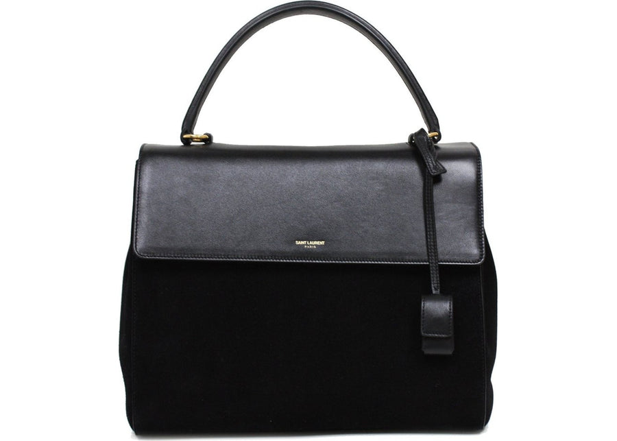 Saint Laurent Classic Sac Satchel Top Handle Black