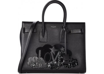 Saint Laurent Love Sac De Jour Small Black