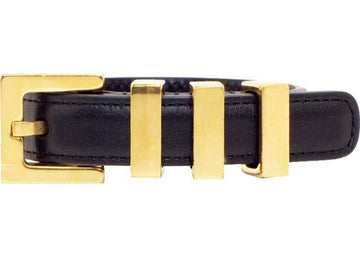 Saint Laurent Monet Bracelet Buckle Closure Black