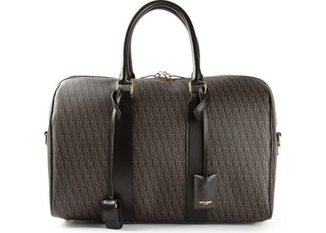 Saint Laurent Monogram Handbag Black/Brown