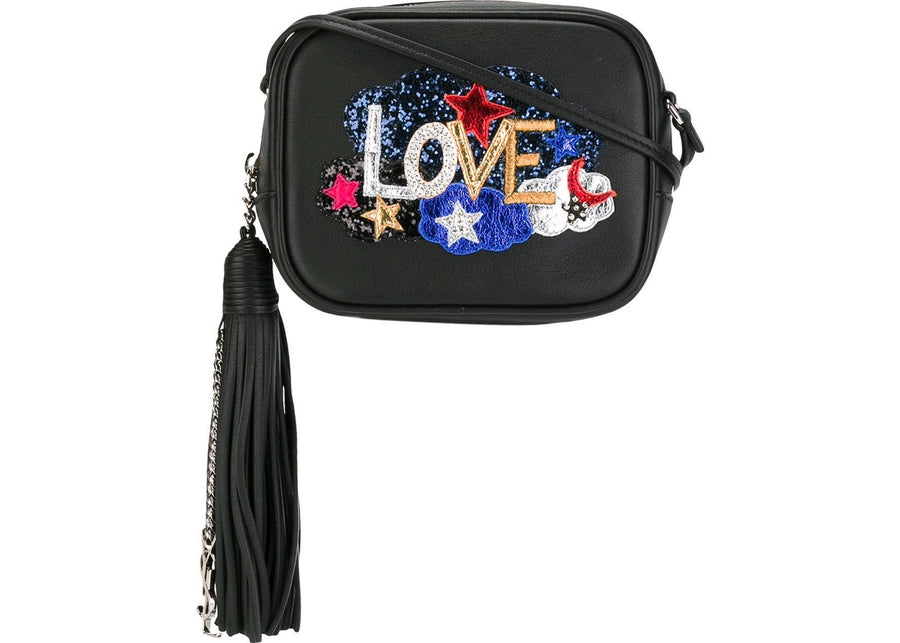Saint Laurent Monogram Love Blogger Glitter Black/Multicolor