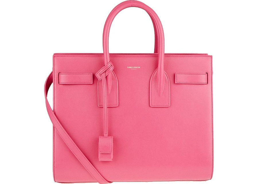 Saint Laurent Sac De Jour Satchel Classic Pink