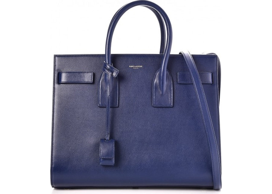 Saint Laurent Sac De Jour Small Blue