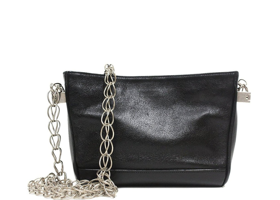 Saint Laurent Shoulder Chain Bag Small Black