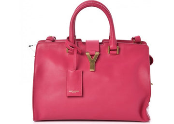 Saint Laurent Y Cabas Small Fuchsia