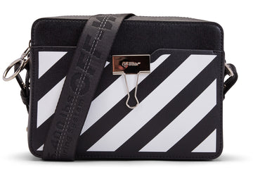 OFF-WHITE Camera Bag Diag Black White