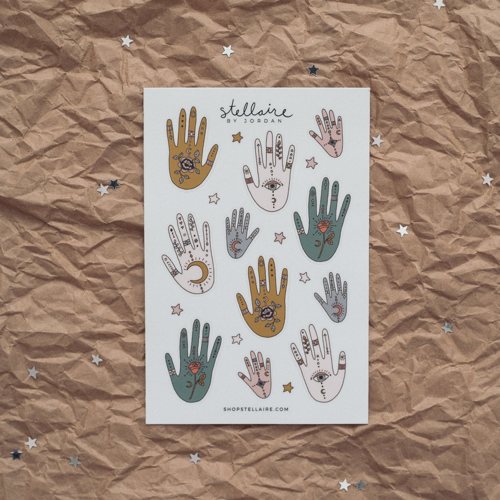 magic hands stickers