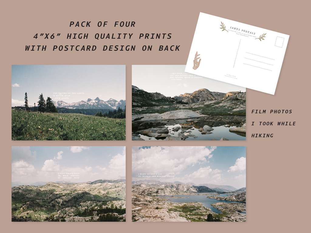 mountain film postcard pack