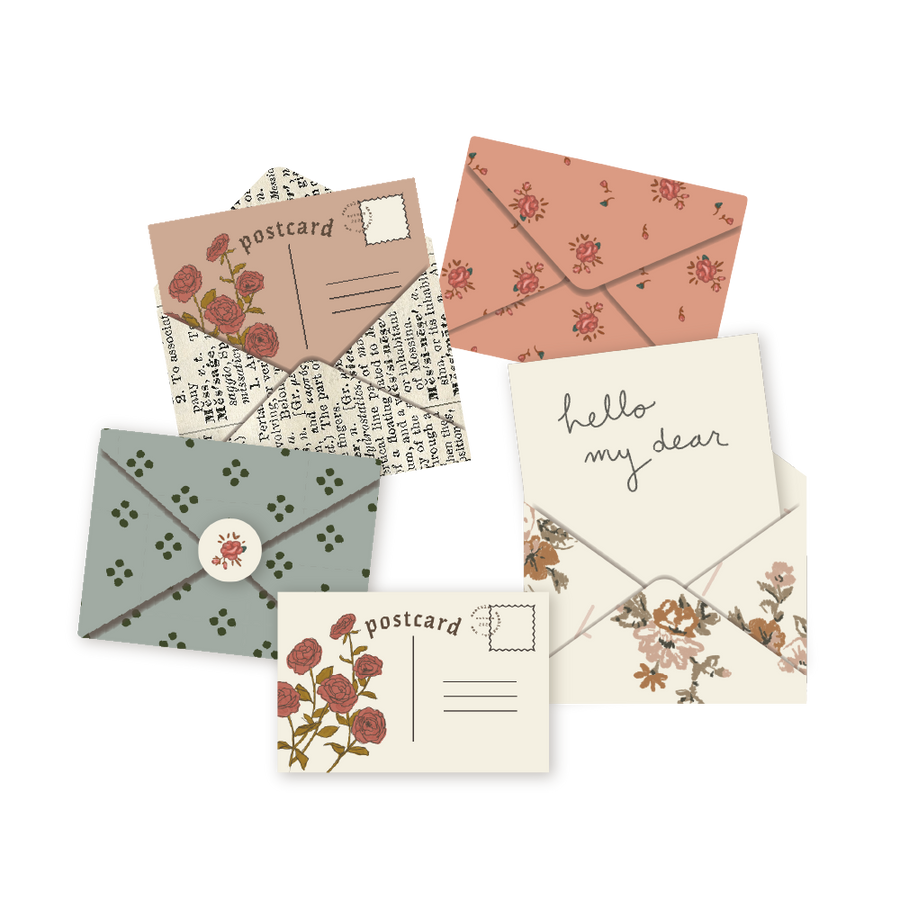 Mini Snail Mail Printable Kit