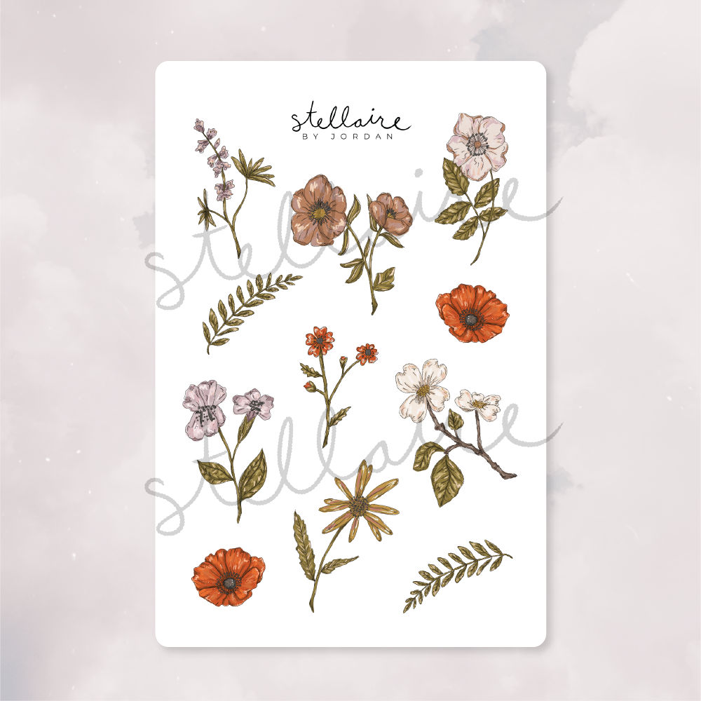 Wildflower Stickers