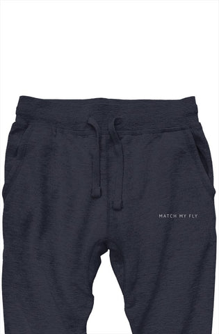 Match My Fly Men Joggers Navy/White